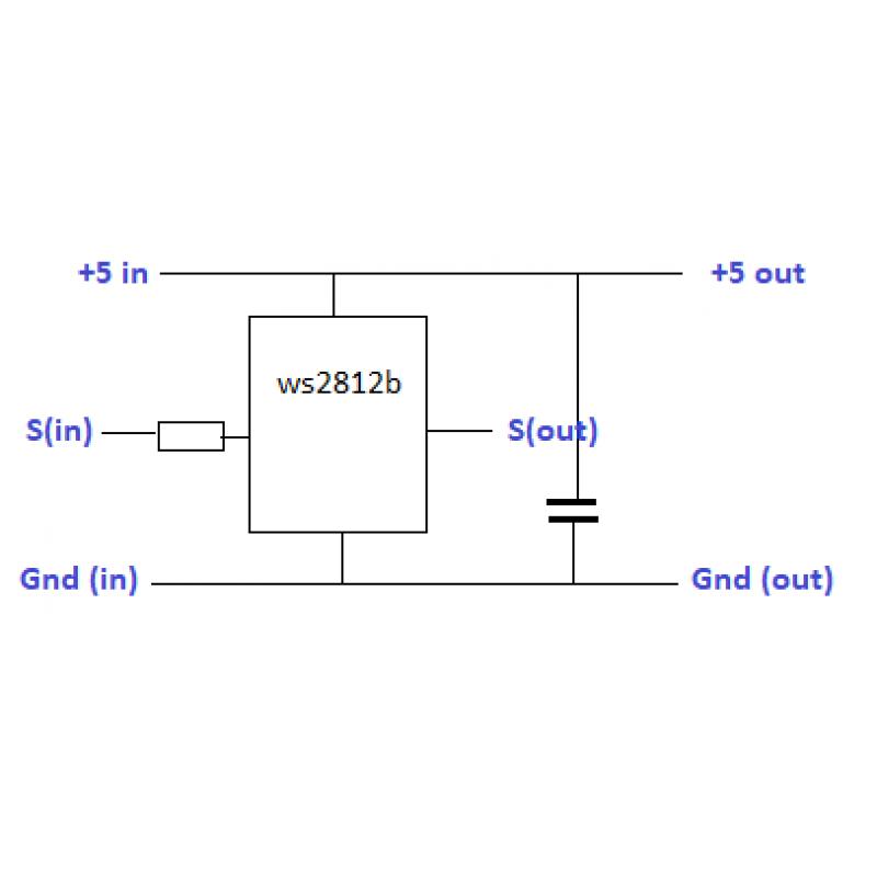 Светодиодный модуль pixel